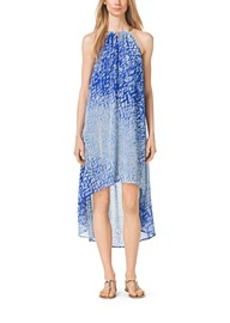 Sorrento Tie-Dye Georgette Dress, Petite