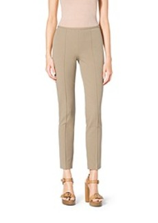 Stretch Cotton-Twill Skinny Pants