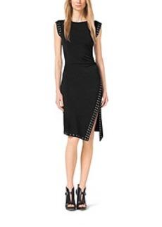Studded Jersey Dress
