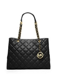 Susannah Quilted Leather Large Tote