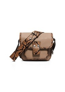 Taylor Small Leather Messenger