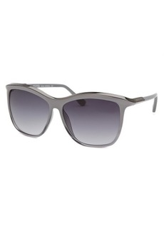 Michael By Michael Kors Women's Ariana Square Grey Gradient and Gunmetal Sunglasses