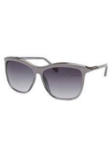Michael By Michael Kors Women's Ariana Square Grey Gradient and Gunmetal Sunglasses