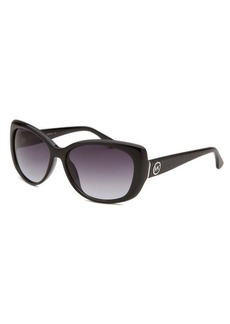 Michael By Michael Kors Women's Beacon Cat Eye Black Sunglasses