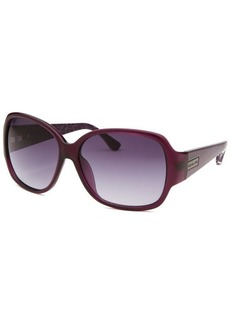 Michael By Michael Kors Women's Caitlyn Square Purple Sunglasses