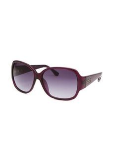 Michael By Michael Kors Women's Caitlyn Square Purple Sunglasses
