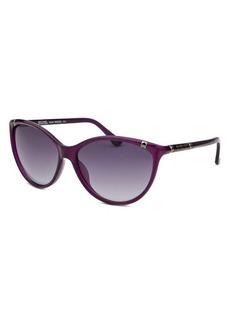 Michael By Michael Kors Women's Camila Butterfly Purple Sunglasses