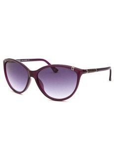 Michael By Michael Kors Women's Camila Cay Eye Purple Sunglasses