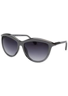 Michael By Michael Kors Women's Dianna Cat Eye Grey And Gunmetal Sunglasses