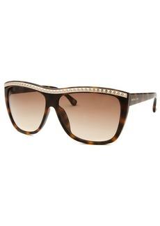 Michael By Michael Kors Women's Emerson Wayfarer Tortoise Sunglasses