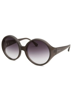 Michael By Michael Kors Women's Fernando Round Grey Sunglasses