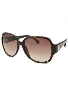 Michael By Michael Kors Women's Grayson Square Tortoise Sunglasses