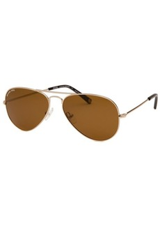 Michael By Michael Kors Women's Jet Set Mini Aviator Gold-Tone Sunglasses
