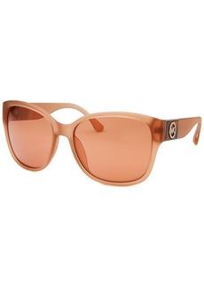 Michael By Michael Kors Women's June Square Blush Sunglasses