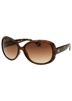 Michael By Michael Kors Women's Kingsbury Square Havana Sunglasses