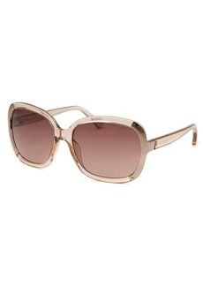 Michael By Michael Kors Women's Lana Square Nude Sunglasses
