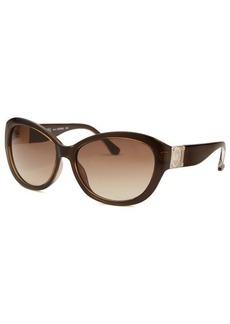 Michael By Michael Kors Women's Nora Brown Cat Eye Sunglasses