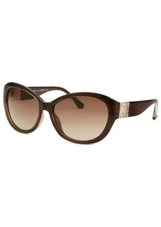 Michael By Michael Kors Women's Nora Brown Cat Eye Sunglasses