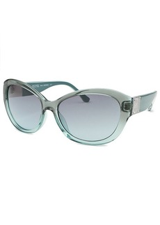 Michael By Michael Kors Women's Nora Butterfly Teal Sunglasses