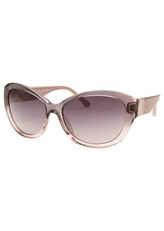 Michael By Michael Kors Women's Nora Butterfly Translucent Mauve Sunglasses