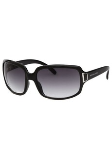 Michael By Michael Kors Women's Rectangle Black Sunglasses