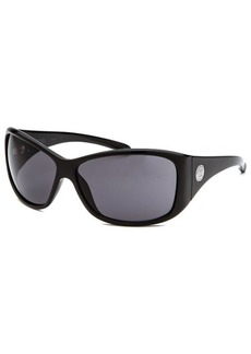 Michael By Michael Kors Women's Rectangle Black Sunglasses