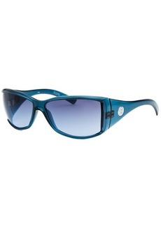 Michael By Michael Kors Women's Rectangle Blue Sunglasses