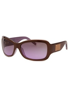 Michael By Michael Kors Women's Rectangle Brown Sunglasses