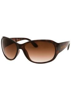 Michael By Michael Kors Women's Rectangle Havana Sunglasses
