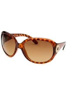 Michael By Michael Kors Women's Round Havana Sunglasses