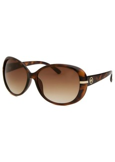 Michael By Michael Kors Women's Round Havana Sunglasses