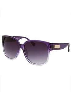 Michael By Michael Kors Women's Ryder Square Purple Gradient Sunglasses