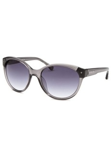 Michael By Michael Kors Women's Savannah Round Crystal Grey Sunglasses
