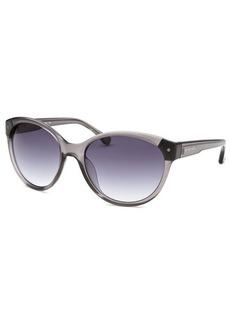 Michael By Michael Kors Women's Savannah Round Crystal Grey Sunglasses