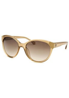 Michael By Michael Kors Women's Savannah Round Crystal Sand Sunglasses