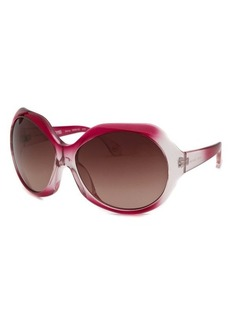 Michael By Michael Kors Women's Sienna Oversized Pink Gradient Sunglasses