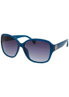Michael By Michael Kors Women's Sophia Square Blue Jay Sunglasses
