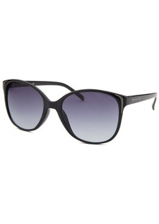 Michael By Michael Kors Women's Square Black Sunglasses