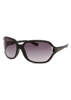 Michael By Michael Kors Women's Square Black Sunglasses