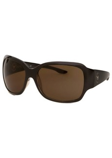 Michael By Michael Kors Women's Square Brown Sunglasses