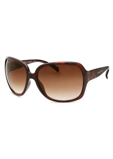 Michael By Michael Kors Women's Square Havana Sunglasses