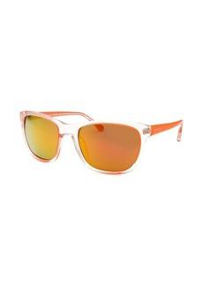 Michael By Michael Kors Women's Tessa Square Neon Orange Sunglasses