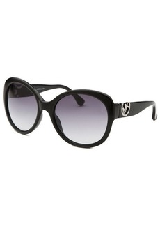 Michael By Michael Kors Women's Tori Black Round Sunglasses