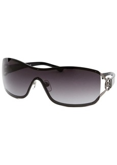 Michael By Michael Kors Women's Verona Shield Gunmetal Sunglasses