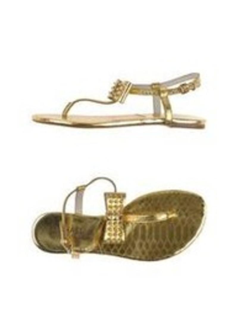michael michael kors michael michael kors thong sandal. Black Bedroom Furniture Sets. Home Design Ideas