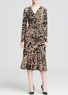 MICHAEL Michael Kors Abstract Animal Print Dress