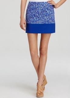 MICHAEL Michael Kors Abstract Print Mini Skirt