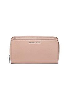 MICHAEL MICHAEL KORS Adele Leather Double-Zip Wallet