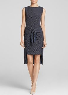 MICHAEL Michael Kors Adriatic Polka Dot Tie Dress