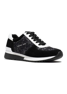 MICHAEL Michael Kors Allie Tweed Lace Up Sneakers